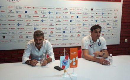 Slišković i Sedloski na press konferenciji