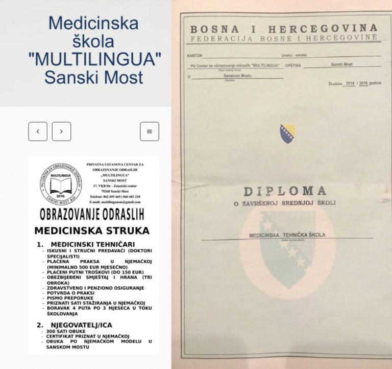 Istraživačka priča novinarke Žurnala: Diplomu srednje