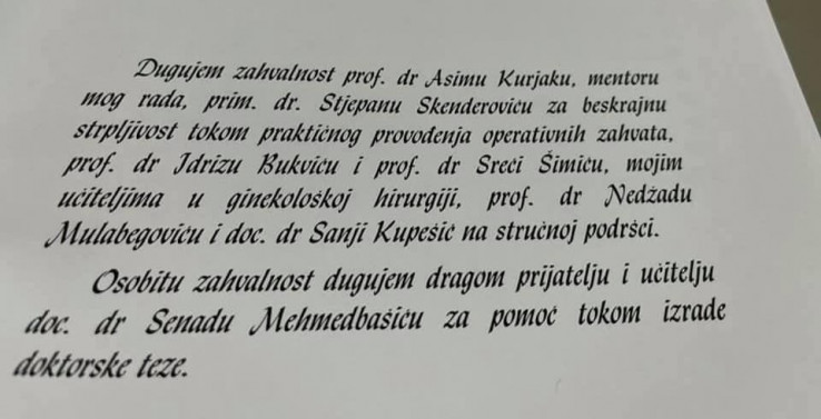 Neoborivi dokaz: Izetbegovićka zahvalila Kurjaku, on je demantira